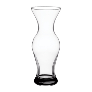 "9"" Flared Vase, Crystal,  Pack Size: 12"