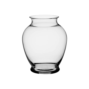 "7 1/4"" Ginger Vase, Crystal,  Pack Size: 12"