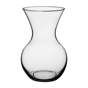 "10"" Two Dozen Rose Vase, Crystal,  Pack Size: 6"