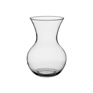 "8 3/4"" Dozen Rose Vase, Crystal,  Pack Size: 12"