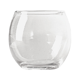"2 1/2"" Roly Poly Votive, Crystal,  Pack Size: 36"