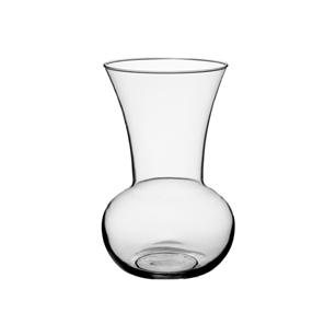 "8 3/4"" Tropical Garden Vase, Crystal,  Pack Size: 12"