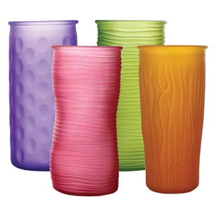 "9 3/4"" Rose Vase Assortment, Breeze Assortment,  Pack Size: 12"