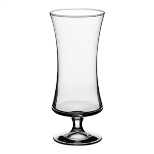 "9 3/8"" Footed Gathering Vase, Crystal,  Pack Size: 9"