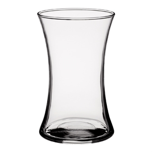 "8"" Small Gathering Vase, Crystal,  Pack Size: 9"