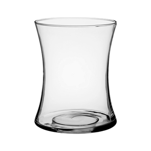 "8"" Gathering Vase, Crystal,  Pack Size: 6"