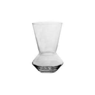 "6 3/8"" Fusion Vase, Crystal,  Pack Size: 12"