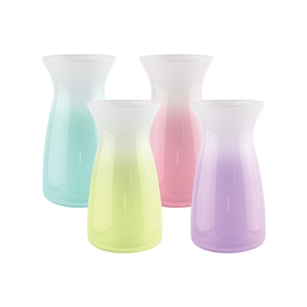"6 3/8"" Vibe Vase, Cottage Lane Ombre Asst.,  Pack Size: 12"