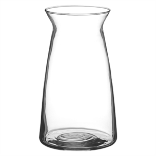 "9"" Cinch Vase, Crystal,  Pack Size: 12"