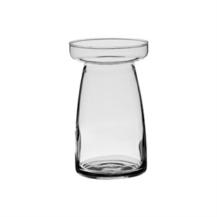 "6 1/8"" Pillar Vase, Crystal,  Pack Size: 12"