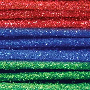 "Glitter Stems - 36"", Primary Assortment,  Pack Size: 576"