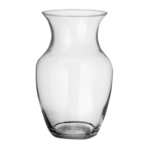 "9"" Rose Vase, Crystal,  Pack Size: 12"