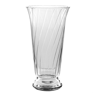 "10 1/2"" Romanesque Vase, Crystal,  Pack Size: 9"
