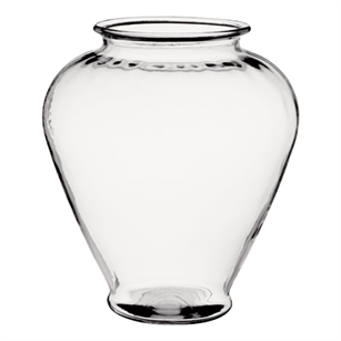 "10 3/4"" Ginger Vase, Crystal,  Pack Size: 4"