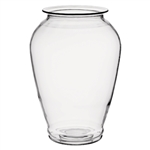 "14"" Bounty Vase, Crystal,  Pack Size: 2"