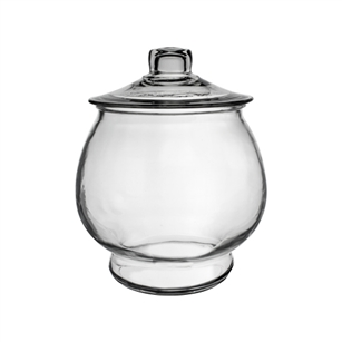 1/2 Gallon Footed Terrarium, Crystal,  Pack Size: 2