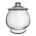 1 Gallon Footed Terrarium, Crystal,  Pack Size: 2