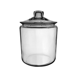 1/2 Gallon Cylinder Terrarium, Crystal,  Pack Size: 6