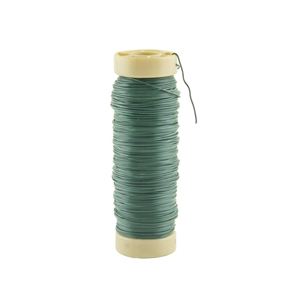 22 Gauge 1/2 lb Spool Wire, Green,  Pack Size: 96