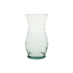 "7"" Optic Bouquet Vase, Crystal,  Pack Size: 12"
