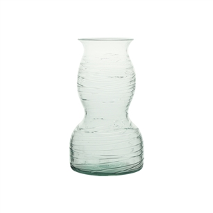 "8 1/2"" Spindle Rose Vase, Crystal,  Pack Size: 12"