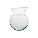"7 3/4"" Peony Vase, Crystal,  Pack Size: 12"