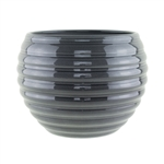 "730 7"" Pot, Glass Grey,  Pack Size: 6"
