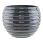 "730 8 1/4"" Pot, Glass Grey,  Pack Size: 4"