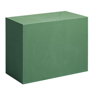 Deluxe Mega Brick, Green,  Pack Size: 6