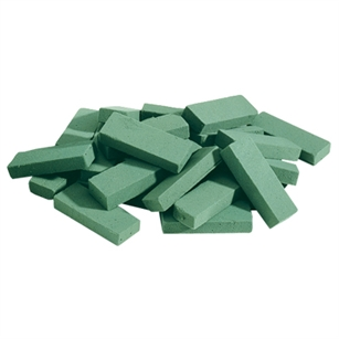 Filler Sticks 10 Cubic Ft., Green,  Pack Size: 1