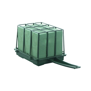 1/3 Brick Cage with Aquafoam, Green,  Pack Size: 12