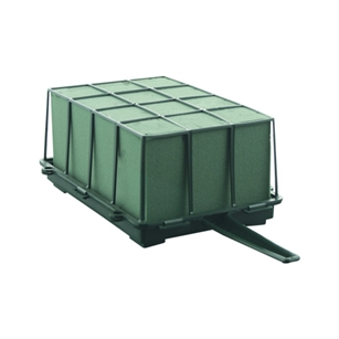 2/3 Brick Cage with Aquafoam, Green,  Pack Size: 12