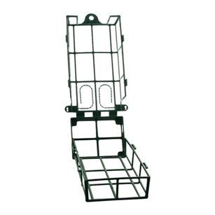 Aquafoam Snap Cage open base, Green,  Pack Size: 24