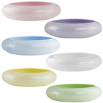"9 1/4"" Lotus Bowl, Seaside Pastel Assortment,  Pack Size: 12"