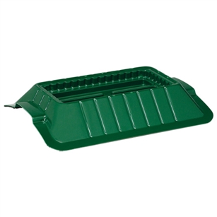 "13 1/2"" Single Casket Saddle, Green,  Pack Size: 18"