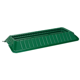 "23"" Double Casket Saddle, Green,  Pack Size: 12"