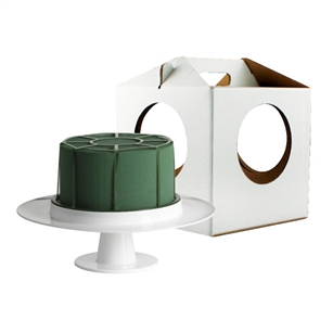 Aquafoam Cake Kit w/Carrier, White,  Pack Size: 6