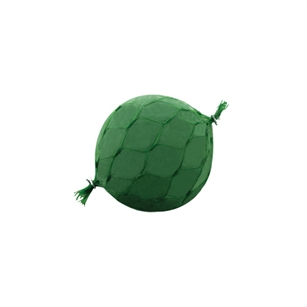 "4 1/2"" Sphere w/net, Green,  Pack Size: 20"