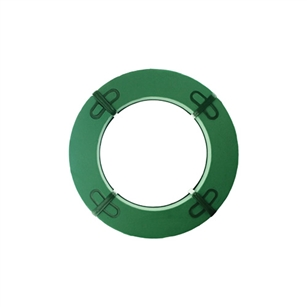 "15"" Wreath, Green,  Pack Size: 6"