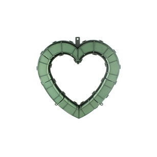 "12"" Open Heart, Green,  Pack Size: 2"