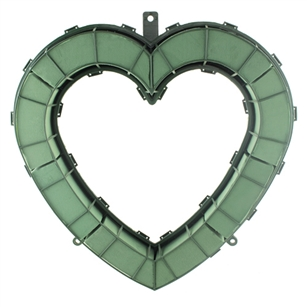 "24"" Open Heart, Green,  Pack Size: 2"