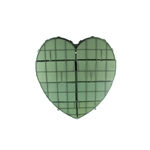 "12"" Solid Heart, Green,  Pack Size: 2"