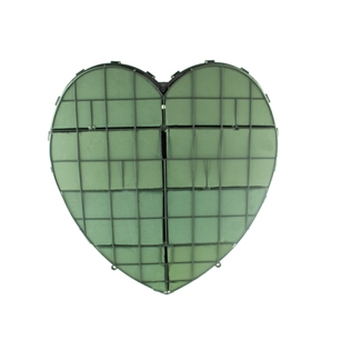 "18"" Solid Heart, Green,  Pack Size: 2"