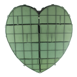 "24"" Solid Heart, Green,  Pack Size: 2"