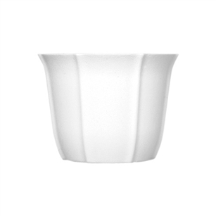 "6"" Tulip Design Bowl, White,  Pack Size: 24"
