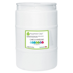 AquaHold Clear 30gal Drum, ,  Pack Size: 1