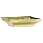 "8"" Centerpiece Tray, Gold,  Pack Size: 24"