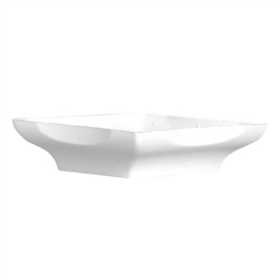 "8"" Centerpiece Tray, White,  Pack Size: 48"