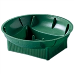 "6"" Single Design Bowl, Green,  Pack Size: 72"