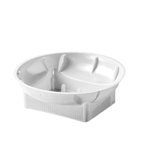 "6"" Single Design Bowl, White,  Pack Size: 72"